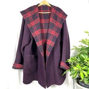 Peruvian Connection Reversible Blanket Jacket